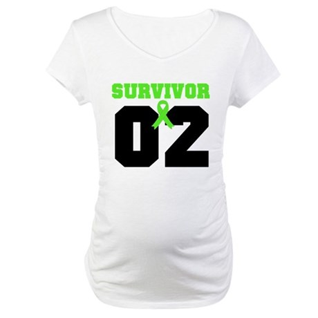 Lymphoma Survivor 2 Years Maternity T-Shirt