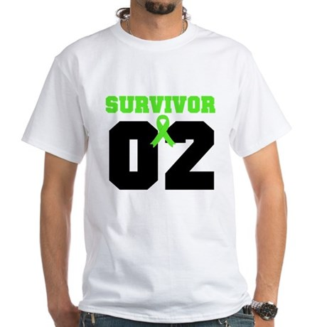 Lymphoma Survivor 2 Years White T-Shirt
