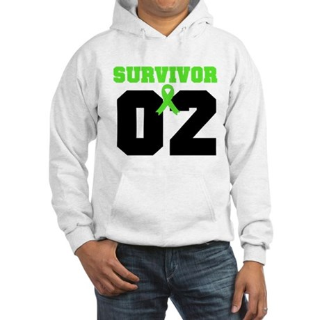 Lymphoma Survivor 2 Years Hooded Sweatshirt