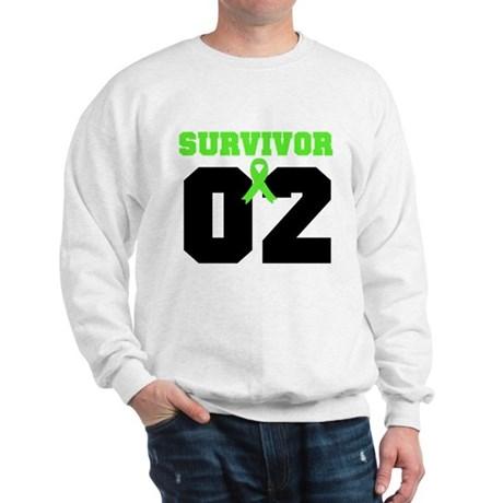 Lymphoma Survivor 2 Years Sweatshirt