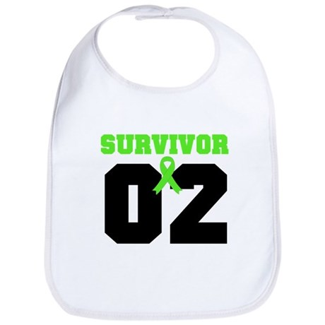 Lymphoma Survivor 2 Years Bib