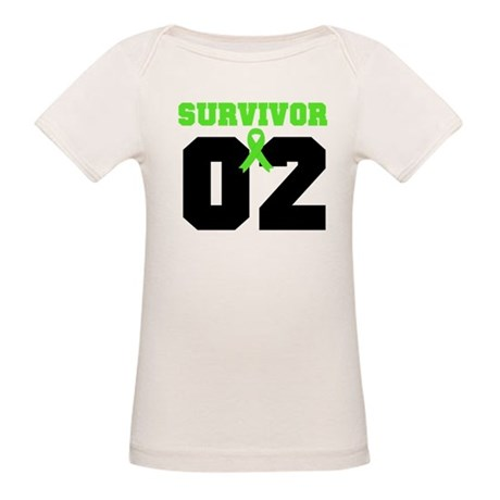 Lymphoma Survivor 2 Years Organic Baby T-Shirt