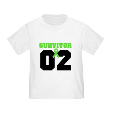 Lymphoma Survivor 2 Years Toddler T-Shirt