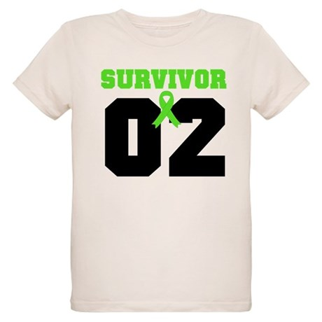 Lymphoma Survivor 2 Years Organic Kids T-Shirt