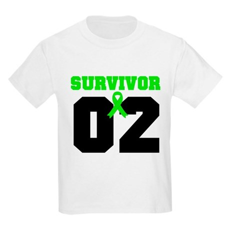 Lymphoma Survivor 2 Years Kids Light T-Shirt