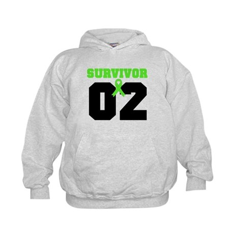 Lymphoma Survivor 2 Years Kids Hoodie