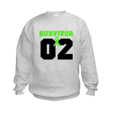 Lymphoma Survivor 2 Years Kids Sweatshirt