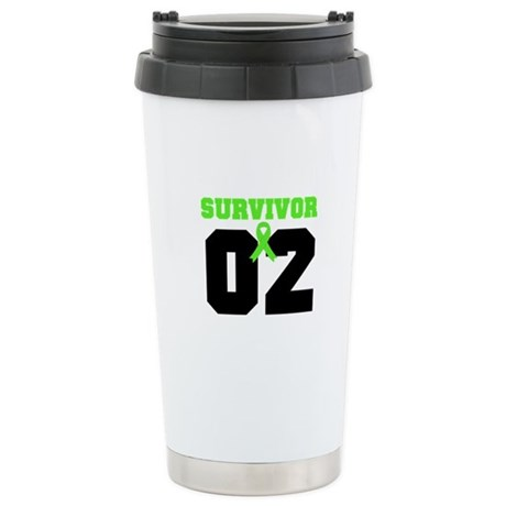 Lymphoma Survivor 2 Years Ceramic Travel Mug