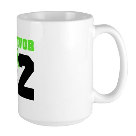 Lymphoma Survivor 2 Years Large Mug