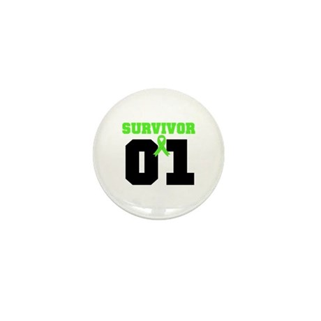 Lymphoma Survivor 1 Years Mini Button