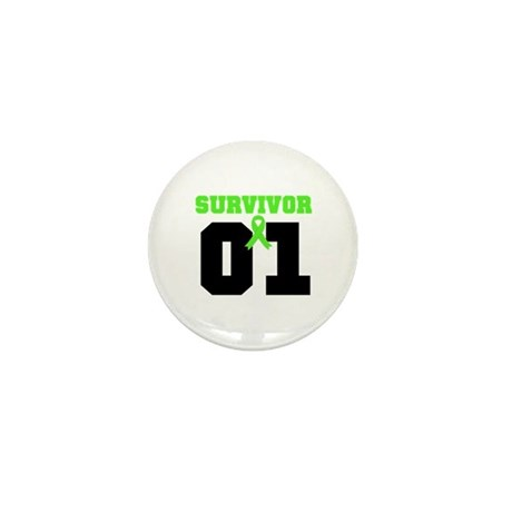 Lymphoma Survivor 1 Years Mini Button (10 pack)