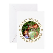 I'M MAD, YOU'RE MAD Greeting Cards (Pk of 20)