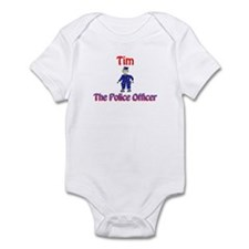 Tim - Police Officer Infant Bodysuit