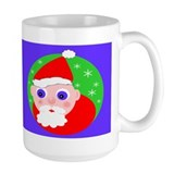 Santa Cartoon Mug