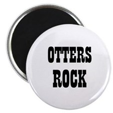 "OTTERS ROCK 2.25"" Magnet (10 pack)"