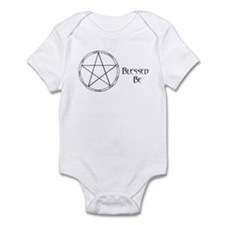 """Blessed Be"" Infant Creeper"