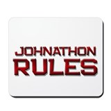 johnathon rules Mousepad