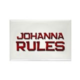 johanna rules Rectangle Magnet (10 pack)