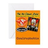 No Clowns Greeting Cards (Set of 6)