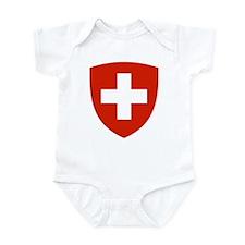 Switzerland Coat of Arms Infant Bodysuit