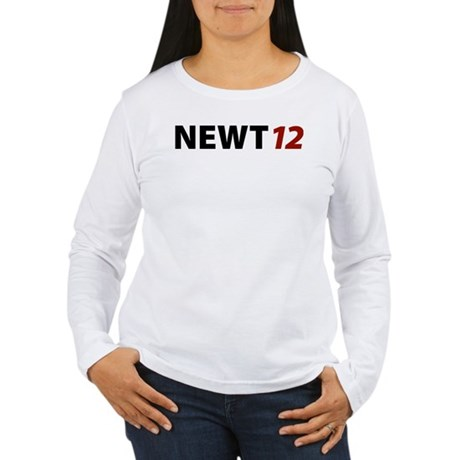 Newt '12 Women's Long Sleeve T-Shirt