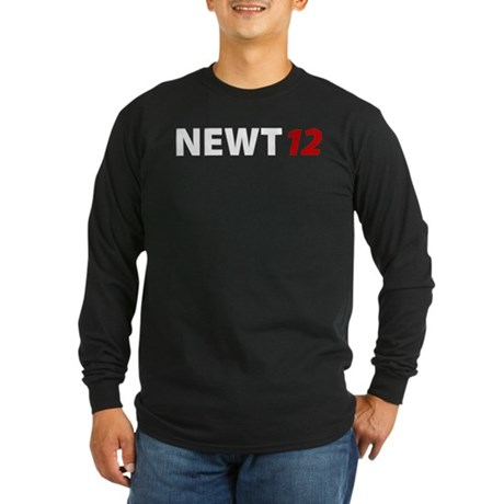 Newt '12 Long Sleeve Dark T-Shirt