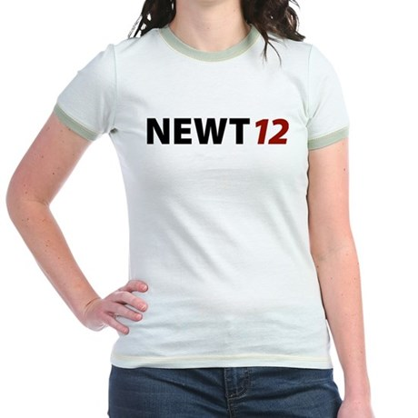 Newt '12 Jr. Ringer T-Shirt