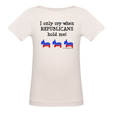 When Republicans Hold Me Organic Baby T-Shirt