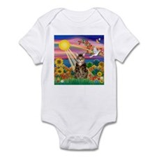 Autumn Sun / Tab Tiger Cat Infant Bodysuit