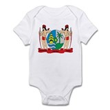 suriname Coat of Arms Onesie