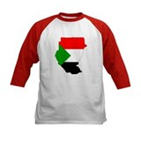 sudan Flag Map Tee