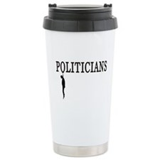 Hanging Politicians Ceramic Travel Mug