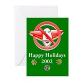 Green NCZ 2002 Holiday Cards (set of 6)