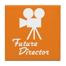 Future Director Tile Coaster