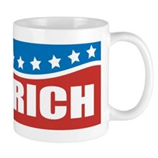 Gingrich Patriotic Small Mug