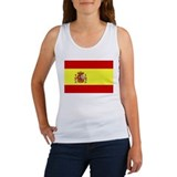 Spain Flag Women's Tank Top
