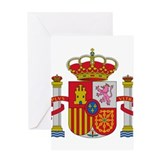 Spain Coat of Arms Greeting Card