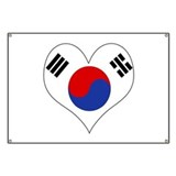 I Love South Korea Banner