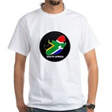 Flag Map of SOUTH AFRICA Shirt