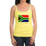 SOUTH AFRICA Flag Ladies Top