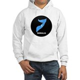 Flag Map of somalia Jumper Hoody