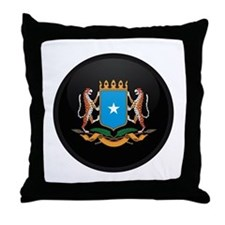 Coat of Arms of somalia Throw Pillow