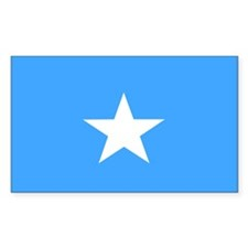 somalia Flag Rectangle Decal