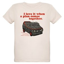 A-Team van & quote T-Shirt