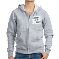 Lefties do it Right Zip Hoodie