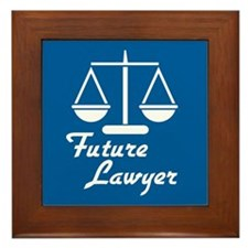 Future Lawyer Framed Tile