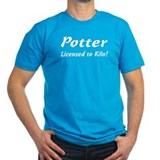 Potter. Licensed to Kiln T