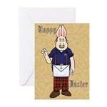 It's Bunny Man! Greeting Cards (Pk of 10)