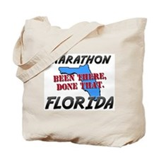 marathon florida - been there, done that Tote Bag