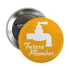 "Future Plumber 2.25"" Button (10 pack)"